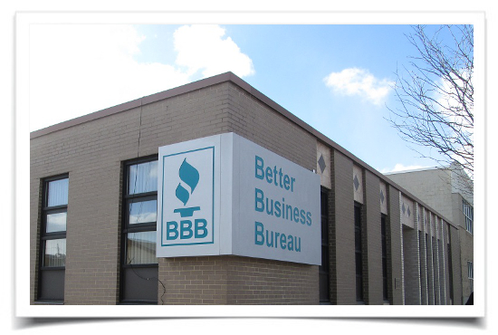 Better Business Bureau Sign