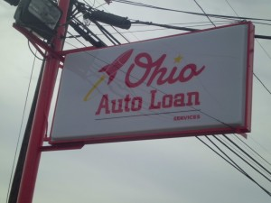 Ohio Auto Loan Services Signage by LAAD Sign