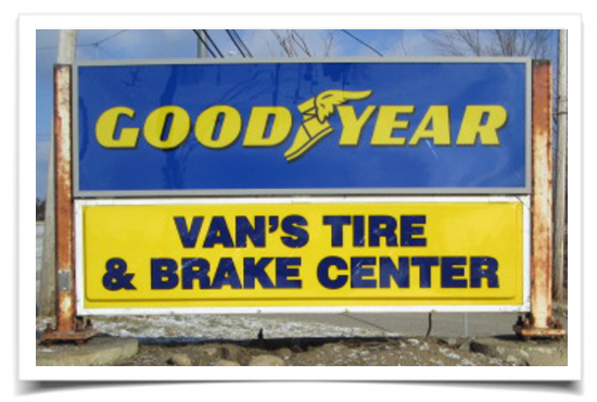 Van's Tire & Brake Center Good Year