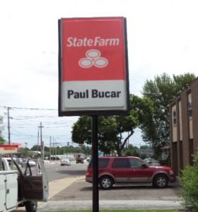State Farm Insurance Agent Sign Northeast Ohio