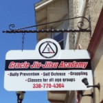 Top Level Martial Arts Business Signs