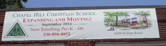 Chapel Hill Christian School Banner